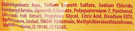 Flüssige Handseife mit Grapefruit - Joanna Naturia Body Grapefruit Liquid Soap (Nachfüller) — Bild N3