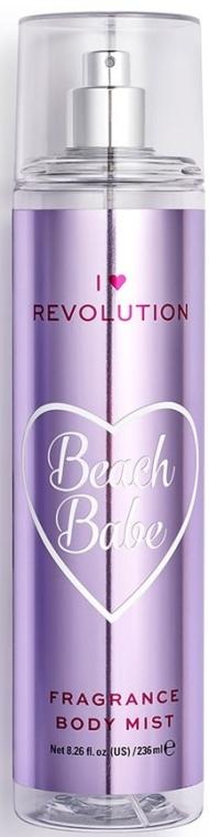 Parfümiertes Körperspray Beach Babe - I Heart Revolution Body Mist Beach Babe