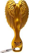 Düfte, Parfümerie und Kosmetik Haarbürste mit Schlüsselanhänger für Kinder golden 8,5x4 cm - Tangle Angel Baby Brush Gold