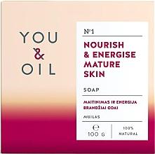 Düfte, Parfümerie und Kosmetik Pflegende Seife für reife Haut - You & Oil Nourish & Energise Mature Skin
