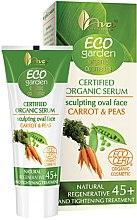 Düfte, Parfümerie und Kosmetik Regenerierendes und straffendes Gesichtsserum mit Möhre und Erbse 45+ - Ava Laboratorium Eco Garden Certified Organic Serum Carrot & Peas