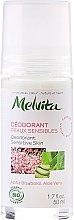 Düfte, Parfümerie und Kosmetik Deo Roll-on für empfindliche Haut - Melvita Body Care Deodorant Sensetive Skin