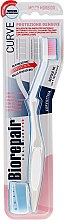 Düfte, Parfümerie und Kosmetik Zahnbürste weich hellgrau-weiß - Biorepair Oral Care Pro