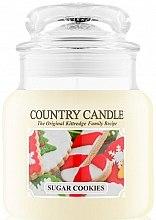 Düfte, Parfümerie und Kosmetik Duftkerze im Glas Sugar Cookies - Country Candle Sugar Cookies