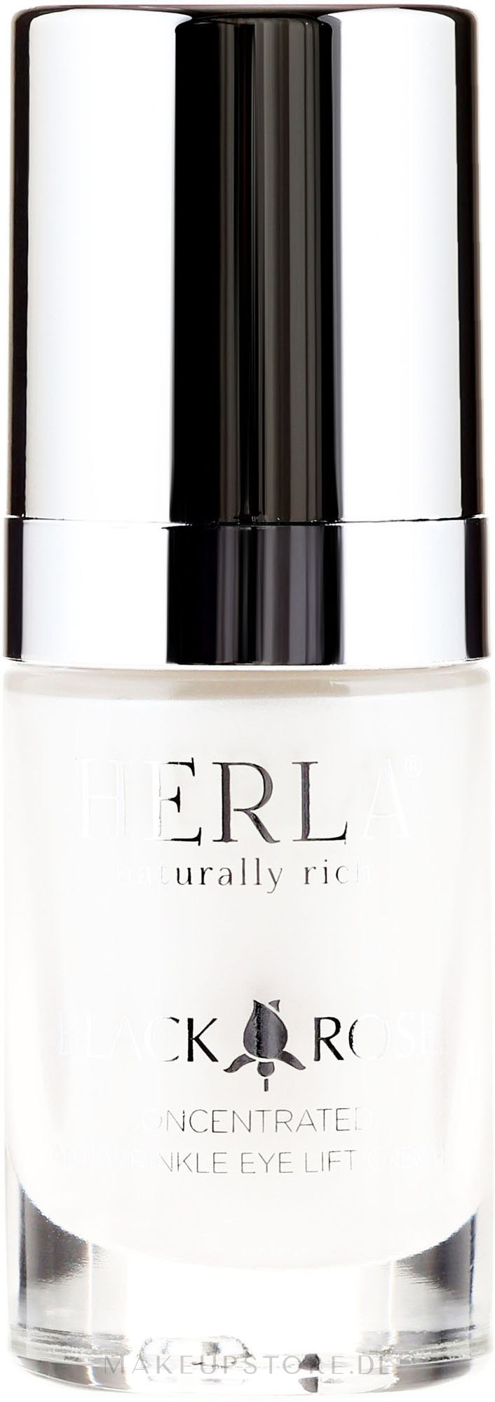 Konzentrierte Anti-Falten Augencreme - Herla Black Rose Concentrated Anti-Wrinkle Eye Lift Cream — Bild 15 ml