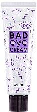 Düfte, Parfümerie und Kosmetik Feuchtigkeitsspendende Anti-Falten Augenkontur- und Gesichtscreme - A'pieu Bad Eye Cream For Face