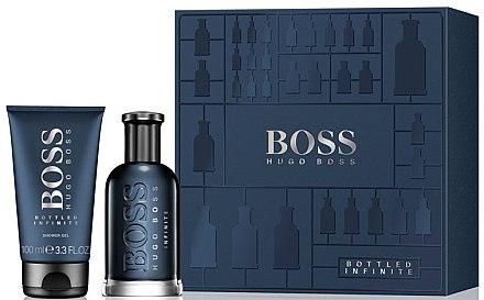 Hugo Boss Boss Bottled Infinite - Duftset (Eau de Parfum/100ml + Duschgel/100) — Bild N1