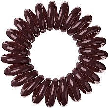 "Düfte, Parfümerie und Kosmetik Haargummis ""Chocolate Brown"" 3 St. - Invisibobble Chocolate Brown"