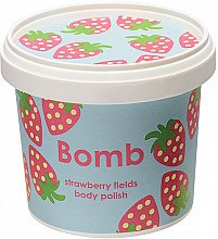 Düfte, Parfümerie und Kosmetik Körperpeeling Strawberry - Bomb Cosmetics Strawberry Fields Body Polish