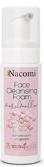Porenverengender und glättender Gesichtsreinigungsschaum mit Marshmallow-Extrakt - Nacomi Face Cleansing Foam Marshmallow — Bild N1