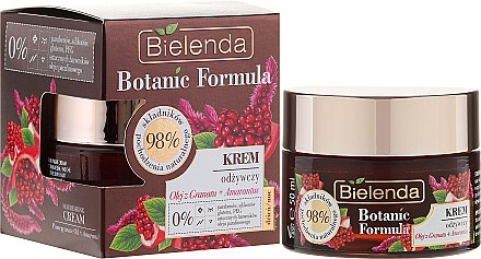 Pflegende Gesichtscreme - Bielenda Botanic Formula Pomegranate Oil + Amaranth Nourishing Cream Day/Night — Bild N1