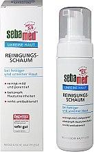 Düfte, Parfümerie und Kosmetik Gesichtsreinigungsschaum für fettige und unreine Haut - Sebamed Clear Face Cleansing Foam