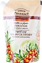 Düfte, Parfümerie und Kosmetik Flüssige Handseife mit Sanddorn - Green Pharmacy Sea Buckthorn Liquid Soap (Doypack)