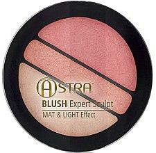 Düfte, Parfümerie und Kosmetik Gesichtsrouge - Astra Make-up Blush Expert Sculpt