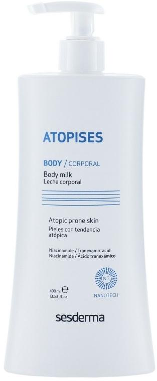 Beruhigende Körpermilch für trockene und atopische Haut - SesDerma Laboratories Atopises Body Milk — Bild N1