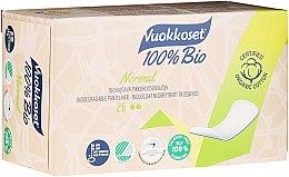Düfte, Parfümerie und Kosmetik Bio Slipeinlagen 26 St. - Vuokkoset 100% Bio Normal