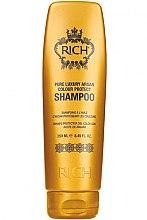 Düfte, Parfümerie und Kosmetik Farbschützendes Shampoo mit Arganöl - Rich Pure Luxury Argan Colour Protect Shampoo