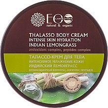Düfte, Parfümerie und Kosmetik Intensiv Feuchtigkeitsspendende Körpercreme mit indischem Zitronengras - ECO Laboratorie Natural & Organic