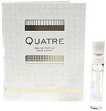 Düfte, Parfümerie und Kosmetik Boucheron Quatre Boucheron Pour Femme - Eau de Toilette (Probe)