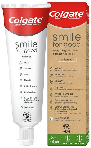 Aufhellende Zahnpasta - Colgate Smile For Good Whitening Toothpaste — Bild N1
