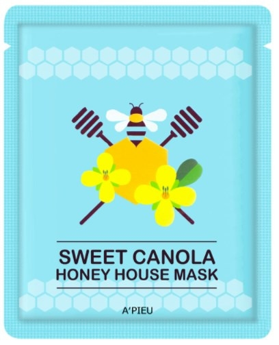 Folienmaske mit Honig - A'pieu Sweet Canola Honey House Mask — Bild N1