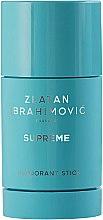 Düfte, Parfümerie und Kosmetik Zlatan Ibrahimovic Supreme Pour Homme - Parfümierter Deostick