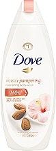 Düfte, Parfümerie und Kosmetik Pflegende Duschcreme mit Mandelmilch und Hibiskusduft - Dove Almond Cream & Hibiskus Shower Gel