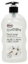 Düfte, Parfümerie und Kosmetik Flüssige Handseife mit Baumwollöl - Bluxcosmetics Naturaphy Hand Soap