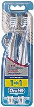 Düfte, Parfümerie und Kosmetik Zahnbürste mittel Pro-Expert grau und blau 2 St. - Oral-B Pro-Expert CrossAction All in One