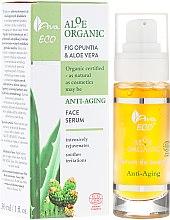 Düfte, Parfümerie und Kosmetik Anti-Aging Gesichtsserum mit Aloe - Ava Laboratorium Aloe Organiic Serum
