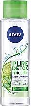 Düfte, Parfümerie und Kosmetik Detox Mizellenshampoo mit grünem Tee und Limette - Nivea Pure Detox Micellar Shampoo