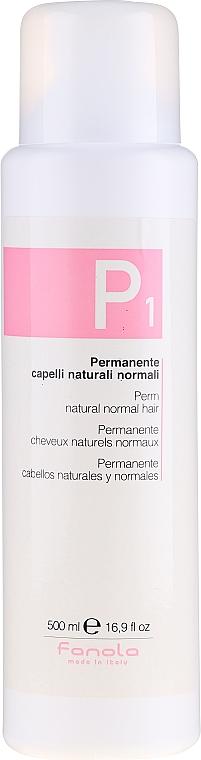 Dauerwelle für normales Haar - Fanola Perm For Natural Normal Hair — Bild N1