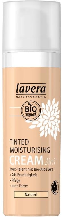 3in1 Getönte, pflegende und feuchtigkeitsspendende Gesichtscreme mit Bio Aloe Vera - Lavera Tinted Moisturizing Cream 3-in-1 — Bild N1