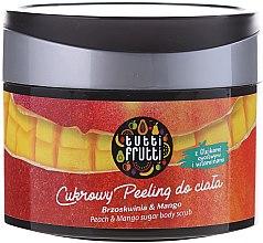 "Körperpeeling mit Zucker ""Pfirsich & Mango"" - Farmona Tutti Frutti Sugar Scrub — Bild N2"
