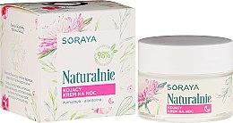 Düfte, Parfümerie und Kosmetik Beruhigende Nachtcreme - Soraya Naturalnie Night Cream