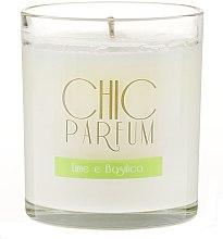 Düfte, Parfümerie und Kosmetik Duftkerze Lime e Basilico - Chic Parfum Lime e Basilico Candle