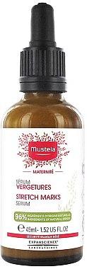 Duftloses Körperserum gegen Dehnungsstreifen - Mustela Maternity Stretch Marks Serum Fragrance-Free — Bild N1