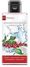 Düfte, Parfümerie und Kosmetik Mizellenwasser mit Preiselbeeren - GoCranberry