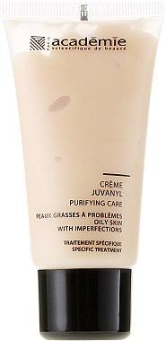 Verfeinernde und mattierende Gesichtscreme zur Regulierung der Talgproduktion - Academie Juvanyl Cream Purifying Care — Bild N2