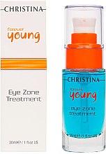 Augenkonturgel SPF 15 - Christina Forever Young Eye Zone Treatment — Bild N2