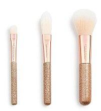 Make-up Pinselset 3 St. - Makeup Revolution London Brushes Mini Brush Set — Bild N2
