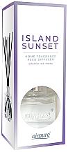 Düfte, Parfümerie und Kosmetik Raumerfrischer Island Sunset - Airpure Reed Diffuser Island Sunset