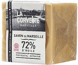 Düfte, Parfümerie und Kosmetik Hypoallergene Naturseife Extra Pur - La Corvette Savon de Marseille Extra Pure Soap Cube