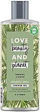 Düfte, Parfümerie und Kosmetik Entgiftendes Duschgel mit Rosmarin und Vetiver - Love Beauty&Planet Delightful Detox Rosemary & Vetiver Shower Gel