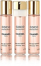 Chanel Coco Mademoiselle - Eau de Parfum (3 x Nachfüllung) — Bild N1