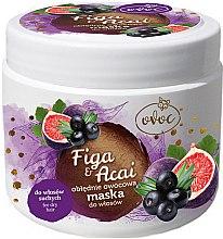 Düfte, Parfümerie und Kosmetik Haarmaske mit Extrakt aus Feigen, Acai und Sheabutter - Ovoc Figa & Acai Mask