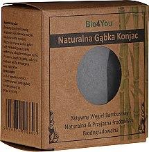 Düfte, Parfümerie und Kosmetik Bio Konjac-Schwamm mit aktiver Bambuskohle - Bio4You