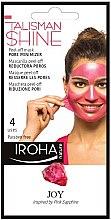 Düfte, Parfümerie und Kosmetik Peel-Off Gesichtsmaske zur Porenminimierung mit pink Saphir - Iroha Nature Peel Off Pink Sapphire Pore Minimizer
