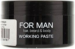Mattierende Haarpaste - Vitality's For Man Working Paste — Bild N2