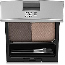 Augenbrauenpuder Duo - Make Up Factory Eye Brow Powder — Bild N1